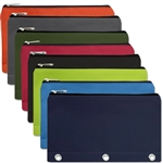Wholesale binder pencil pouch 8 colors