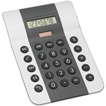 Mitaki-Japan® Black and Silver Dual Powered Calculator   Case Pack 80