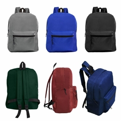 wholesale 15 inch backpacks 6 colors