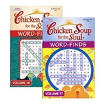 Wholesale Word Finds Puzzle Book-Chicken Soup For The Soul  Case Pack   24
