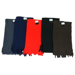 Fleece Scarves - assorted styles
