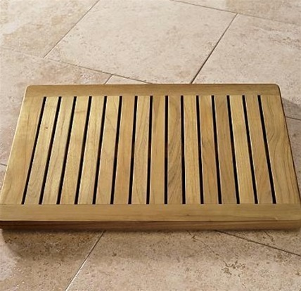 Whole Teak Shower Bench Larger Photo Email A Friend