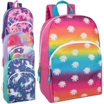 Backpack with Girl Characters