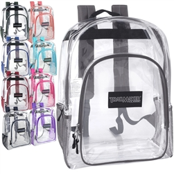17 Inch Clear Backpacks