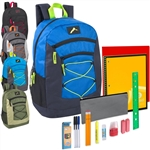 wholesale 18 Inch backpacks with school supplies