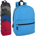 wholesale 17 inch backpack 6 color