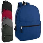 wholesale 17 inch backpack 5 color
