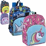Backpack with boy Characters