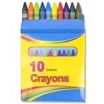 Wholesale 10 pack crayons