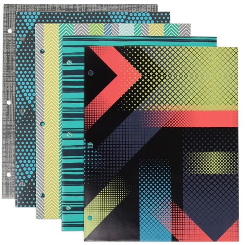 fa0855a64553 Wholesale Graphic Two Pocket Folder Case Pack 96