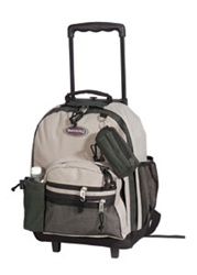Wholesale 16.5 Inch Rolling Backpack
